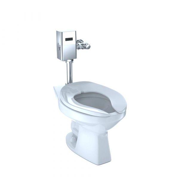 Women's Restroom Toilet