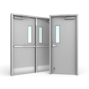 Women's Entry Door